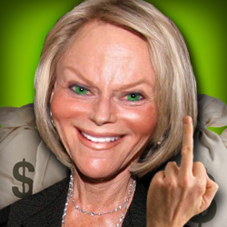 Ruth Madoff continues is banking on your guillability and victims' cash.